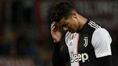 Cristiano-se-lamenta-durante-un-encuentro-con-la-Juventus-(AFP)