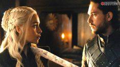 Daenerys y Jon Snow
