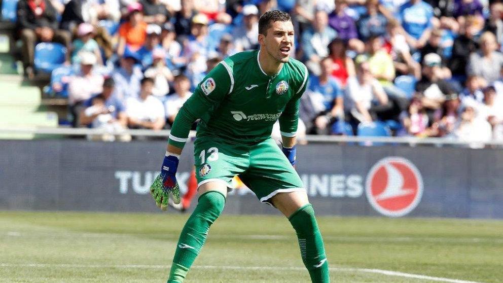 El Getafe bloquea el regreso de David Soria al Sevilla