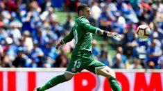 David Soria en un partido con el Getafe (@DavidSoria18)