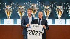 Toni Kroos renueva una temporada más con el Real Madrid. (realmadrid.com)