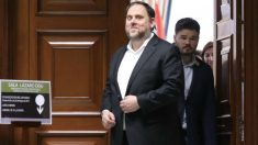 Oriol Junqueras entrando al Congreso. Foto: Europa Press