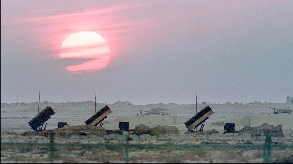 Sistema de defensa antimisiles Patriot de Arabia Saudí (Foto: AFP)