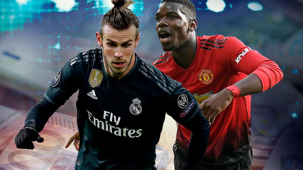 Pogba pide al Real Madrid ganar más que Bale.