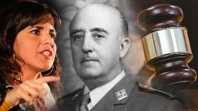 La podemita Teresa Rodríguez condenada por mofarse en Twitter de la muerte de un ministro de Franco