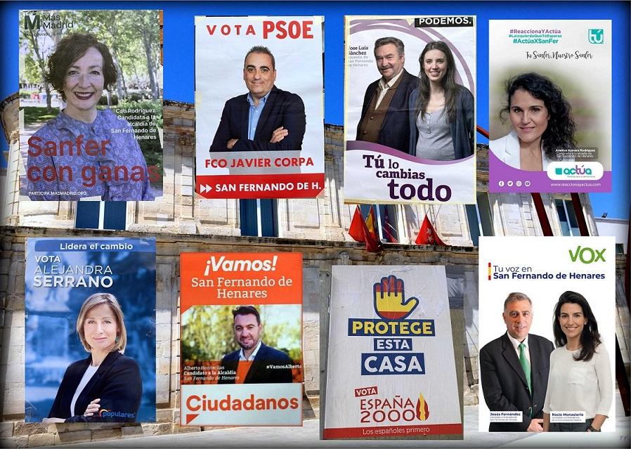 Candidatos a San Fernando de Henares.