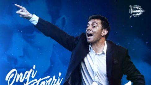 Asier Garitano, nuevo entrenador del Alavés (DeportivoAlaves.com)