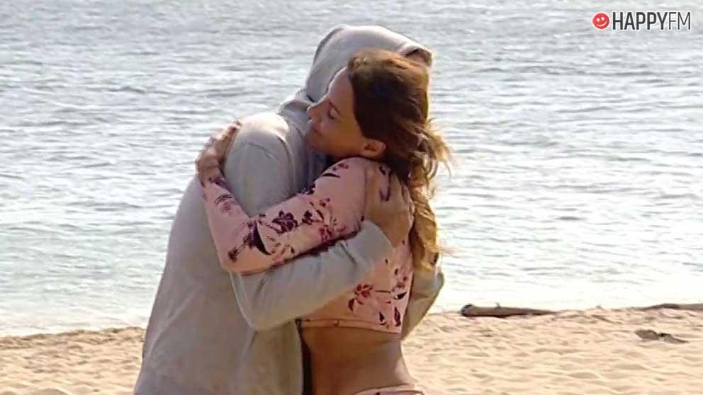 Carlos Lozano y Mónica Hoyos en 'Supervivientes 2019'