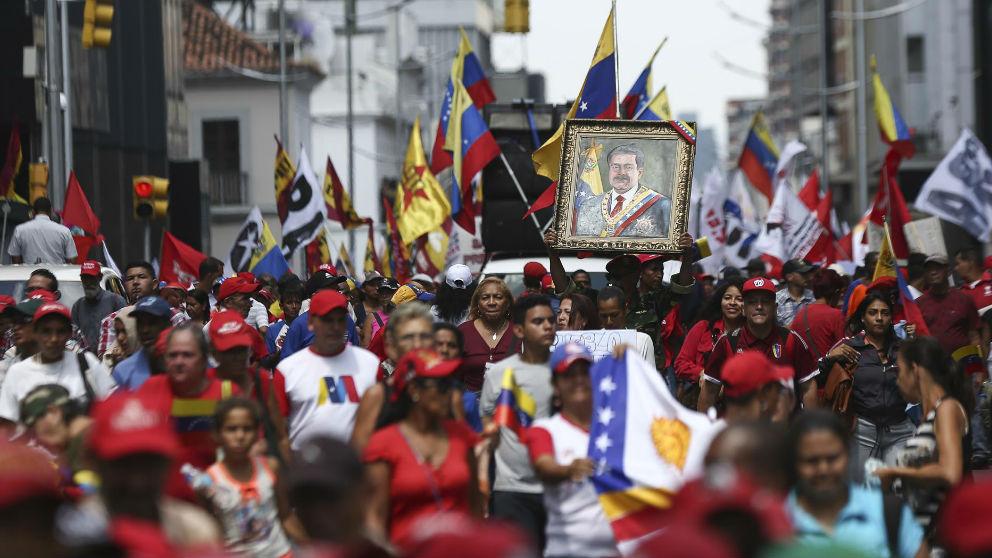 Crisis en Venezuela. Foto: Europa Press