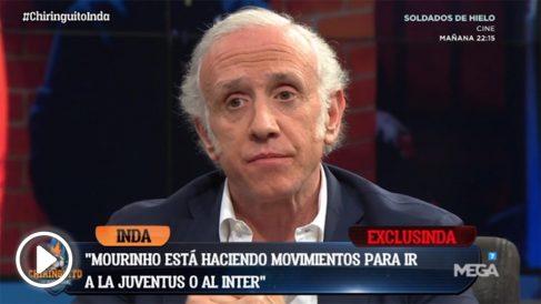 Mourinho puede reaparecer como entrenador en Italia.
