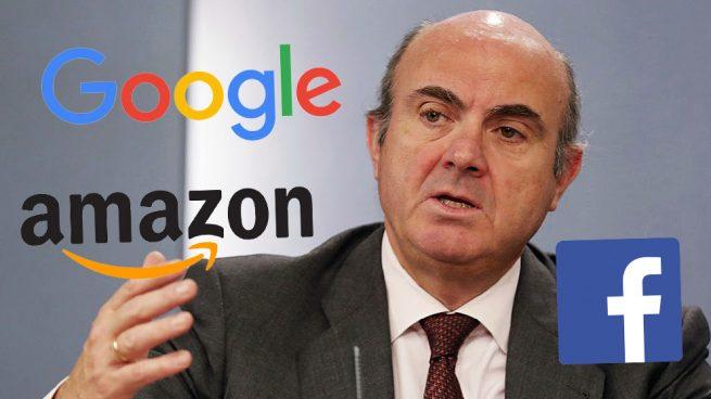 Luis de Guindos (BCE) pide que Google, Facebook o Amazon se sometan a test de estrés
