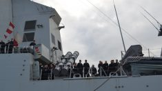 Dotación de la fragata 'Méndez Núñez' (Foto: Armada española).