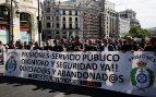 Funcionarios de prisiones frente al Congreso: «Merecemos la misma dignidad que los diputados presos»