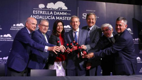 María José Rienda, secretaria de Estado para el Deporte, apoyó el Andalucía Masters.