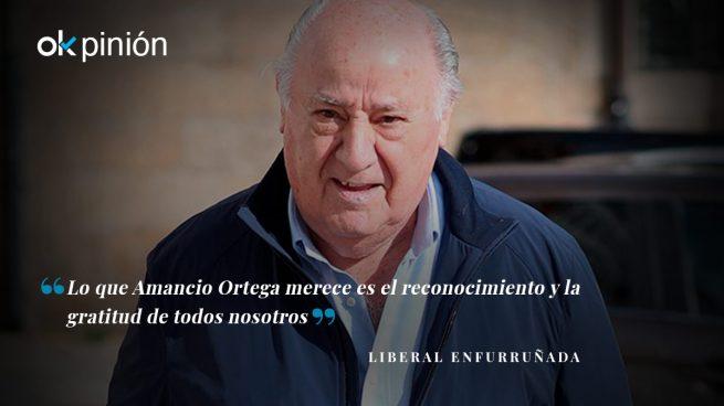 Amancio Ortega no es ni pijo ni podemita