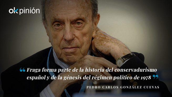 Manuel Fraga, padre de la Constitución