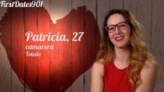 Patricia no ha congeniado con su cita de 'First Dates'