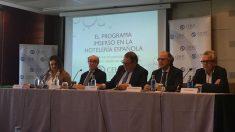 Rueda de prensa de la Confederación Española de Hoteles y Alojamientos Turísticos (CEHAT) (Foto: C.M.)