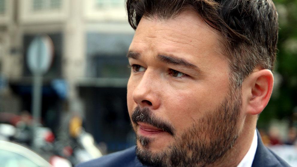 Gabriel Rufián fue despedido por absentismo laboral. (Foto: Enrique Falcón)