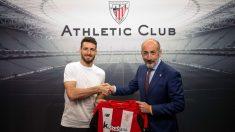 Aritz Aduriz y Aitor Elizegi (Athletic Club)
