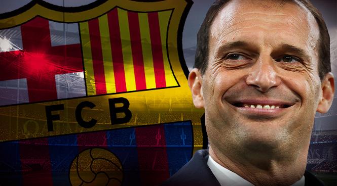 Allegri esperará al Barcelona hasta el mes de junio.