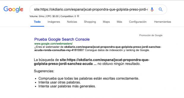 Un fallo de Google afecta al tráfico de todas las webs informativas del mundo