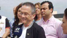 El candidato de Vox a la Presidencia del Gobierno de Canarias, Carmelo González