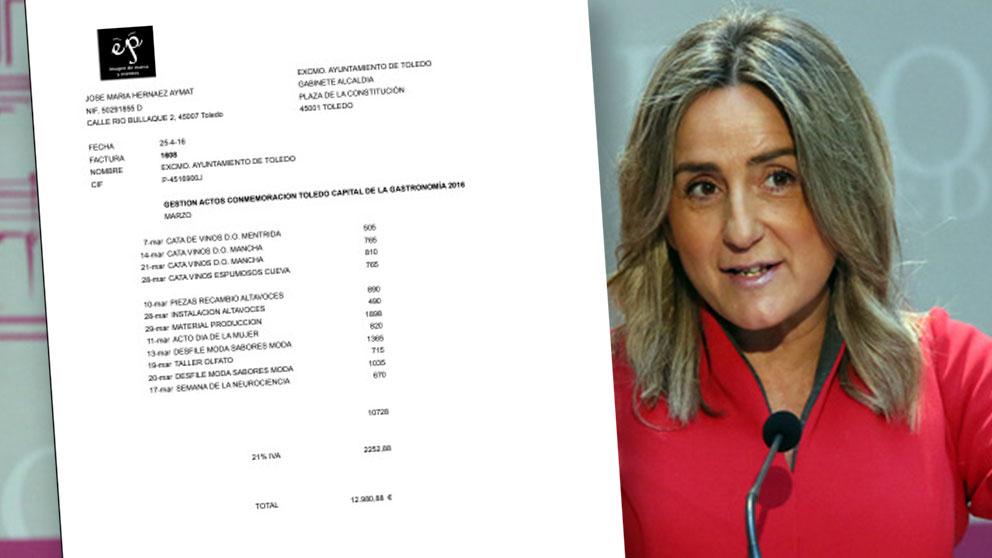 La alcaldesa de Toledo Milagros Tolón.