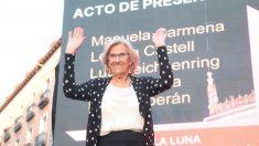 La alcaldesa de Madrid, Manuela Carmena, durante un acto electoral de cara a las elecciones del 26-M. Foto: EP