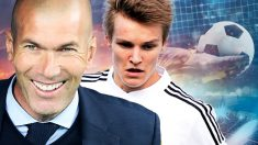 Odegaard es el tapado de Zidane.