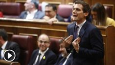 Albert Rivera en el Congreso. Foto: Europa Press