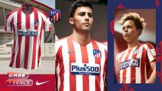 Rodrigo posa con la camiseta del Atlético. (atleticodemadrid.com)