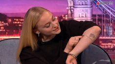 Sophie Turner y el tatuaje que tanto ha dado de qué hablar