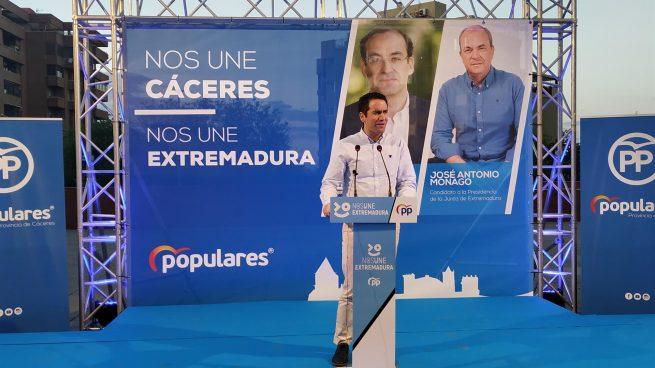 García Egea afirma que votar al PSOE y Podemos es dar el voto al «tenemos que hablar de Junqueras»