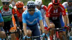 Mikel Landa, en el Giro de Italia. (AFP)