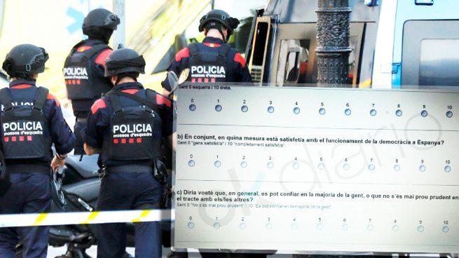 La escuela de Mossos de la Generalitat realiza una encuesta ideológica para marcar a los agentes
