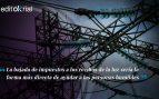 Podemos debe exigir a Sánchez que baje los impuestos a las eléctricas