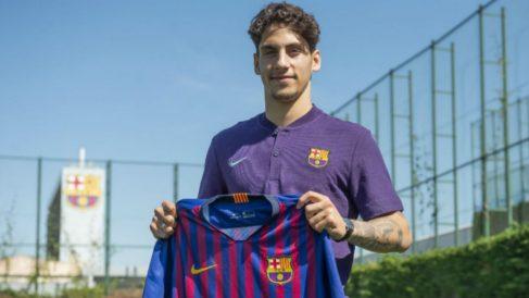Ludovit Reis, fichado por el Barça hasta 2022 (FC Barcelona)