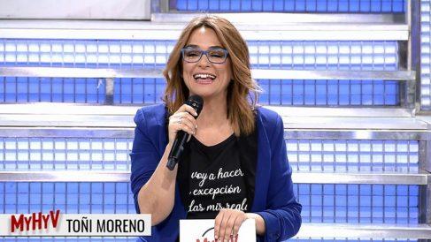 Toñi Moreno presenta las nuevas tronistas de 'MYHYV'