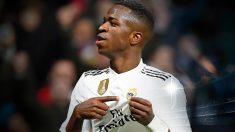 Vinicius está enamorado del Real Madrid.