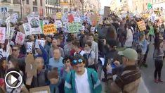 Estudiantes en marcha contra el cambio climático