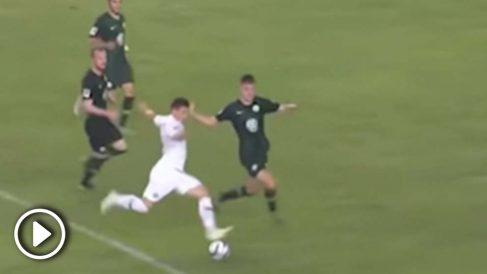 Último gol de Luka Jovic con el Eintracht de Frankfurt.