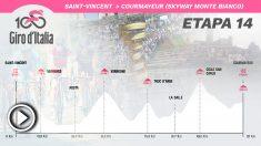 Etapa 14 del Giro de Italia, hoy sábado 25 de mayo.