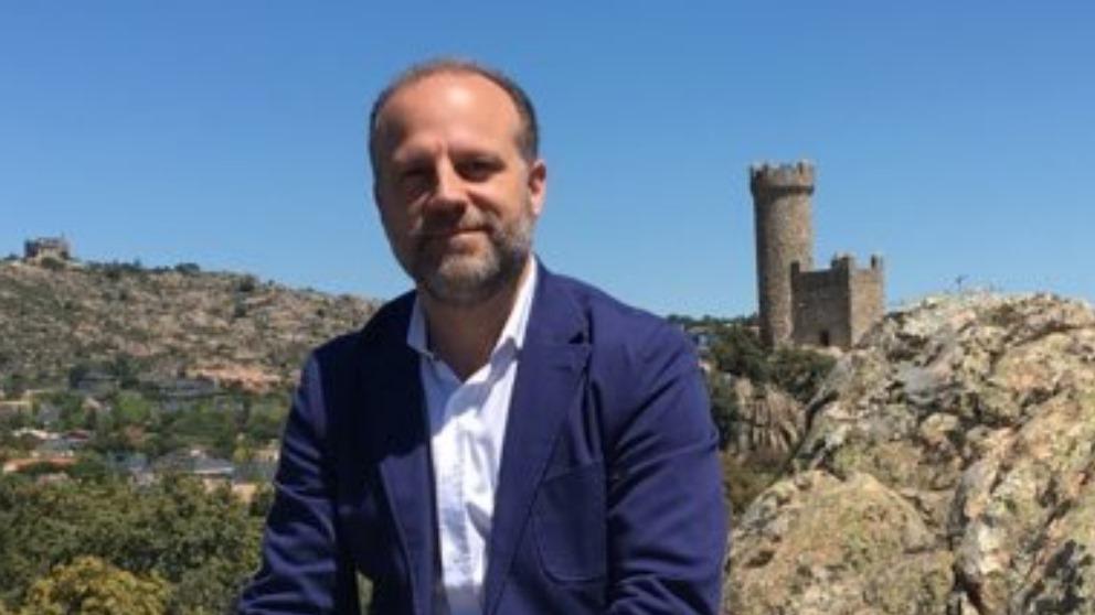 Gonzalo Martín, candidato de Vox a la alcaldía de Torrelodones.
