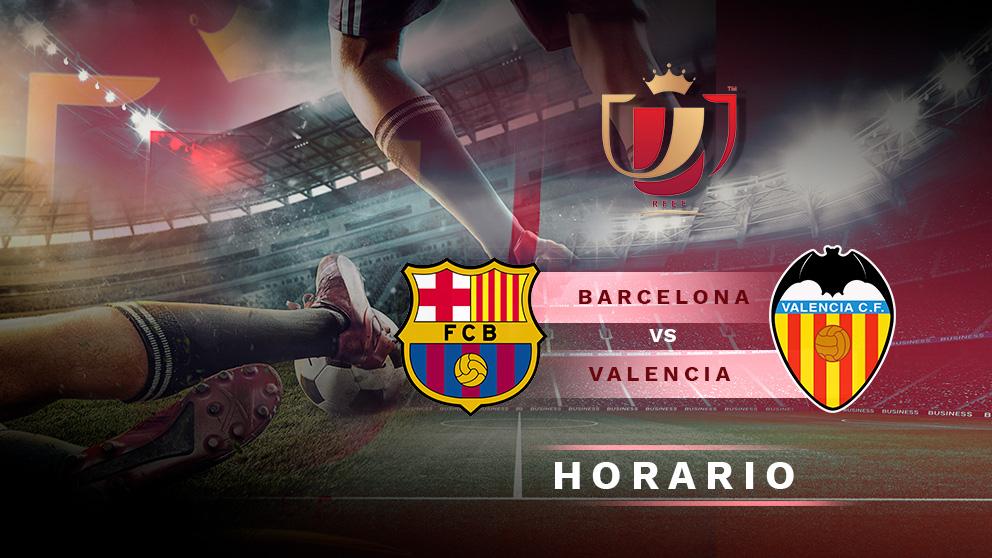 Barcelona – Valencia: final de la Copa del Rey 2019.
