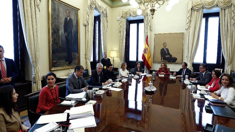 Reunión de la Mesa del Congreso.