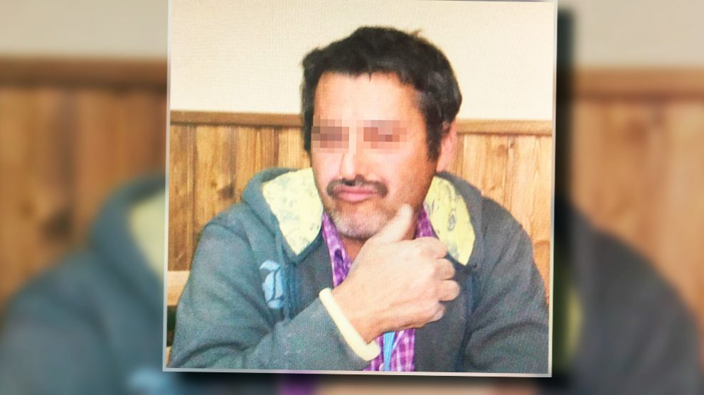 El presunto asesino de Roberto García