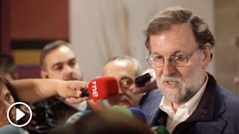 Rajoy ve «de sentido común» la suspensión de los diputados presos