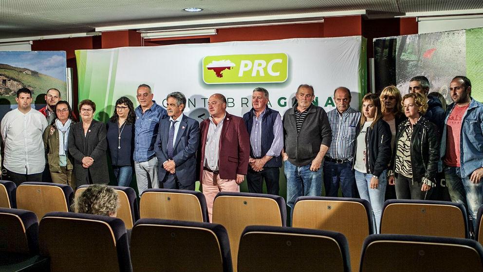 Revilla y miembros del PRC
