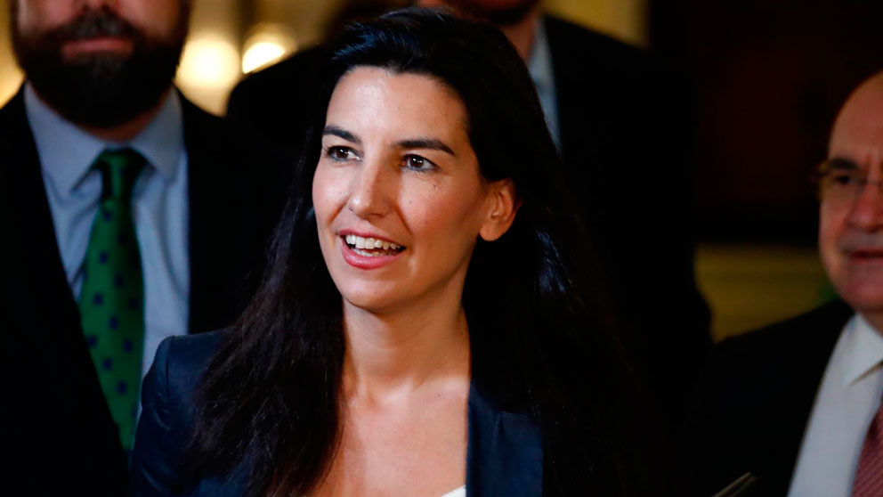 Rocío Monasterio, candidata de Vox a la Comunidad de Madrid. foto: EP